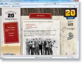 WWW prezentace Pivnice 20